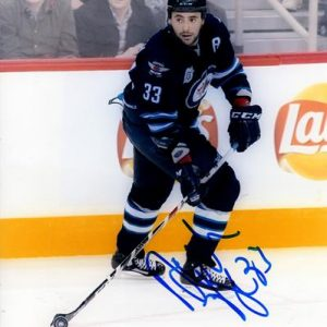 Dustin Byfuglien Autographed Winnipeg Jets 8x10 Photo
