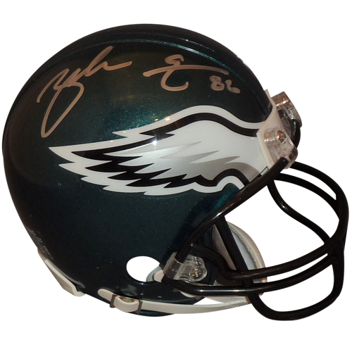 250344d2ba8 Zach Ertz Autographed Philadelphia Eagles Mini Helmet - Palm Beach ...