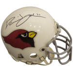 David Johnson Autographed Arizona Cardinals Mini Helmet – JSA