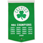 Boston Celtics NBA Finals Championship Dynasty Banner – with hanging rod