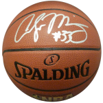 Alonzo Mourning Autographed NBA Basketball – JSA