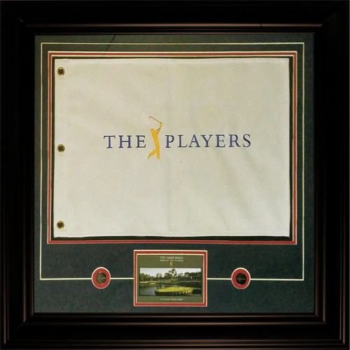 The Players Championship (TPC Sawgrass) Deluxe Framed Golf Pin Flag ...