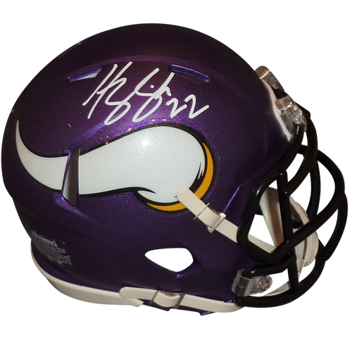 Harrison Smith Autographed Minnesota Vikings Mini Helmet - TSE ... 493afc34d